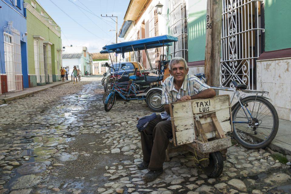 Luis in Trinidad, Cuba