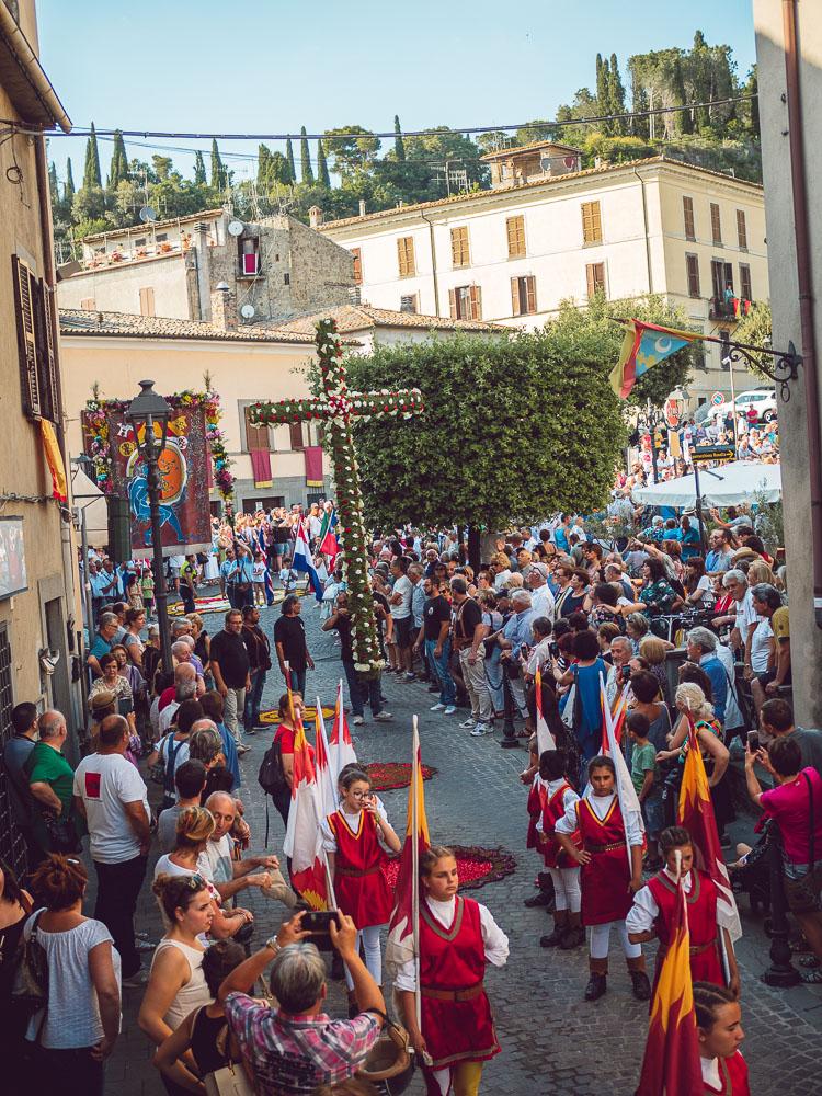 the corpus christi procession in bolsena