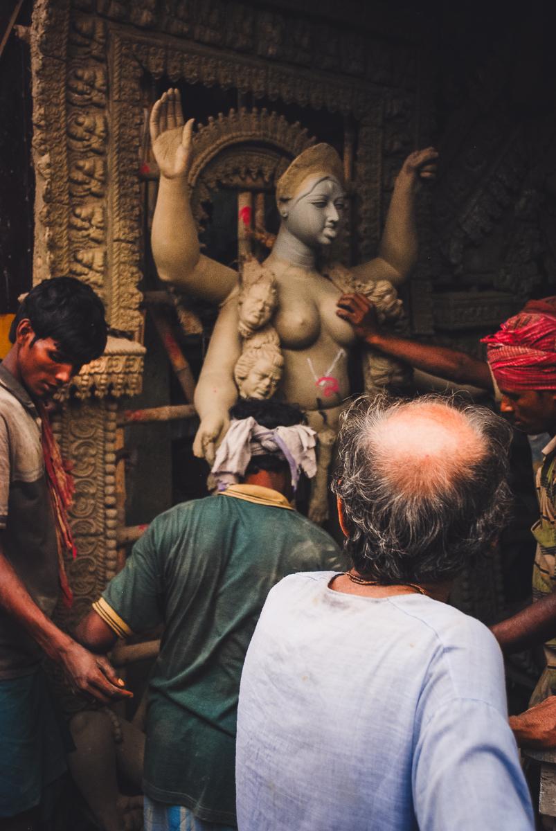 kali worshipping in kolkata