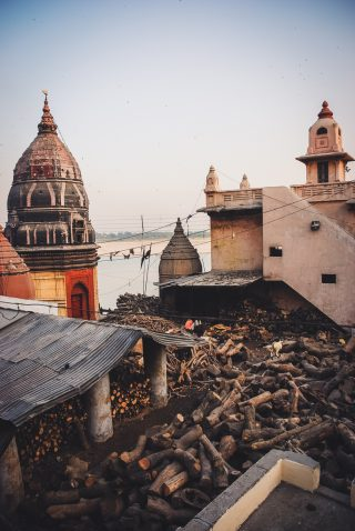 a walk in Varanasi