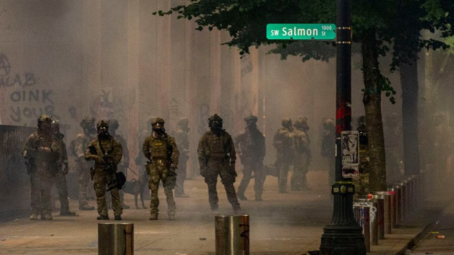 Oregon leaders responding to federal officers at Portland protests ...