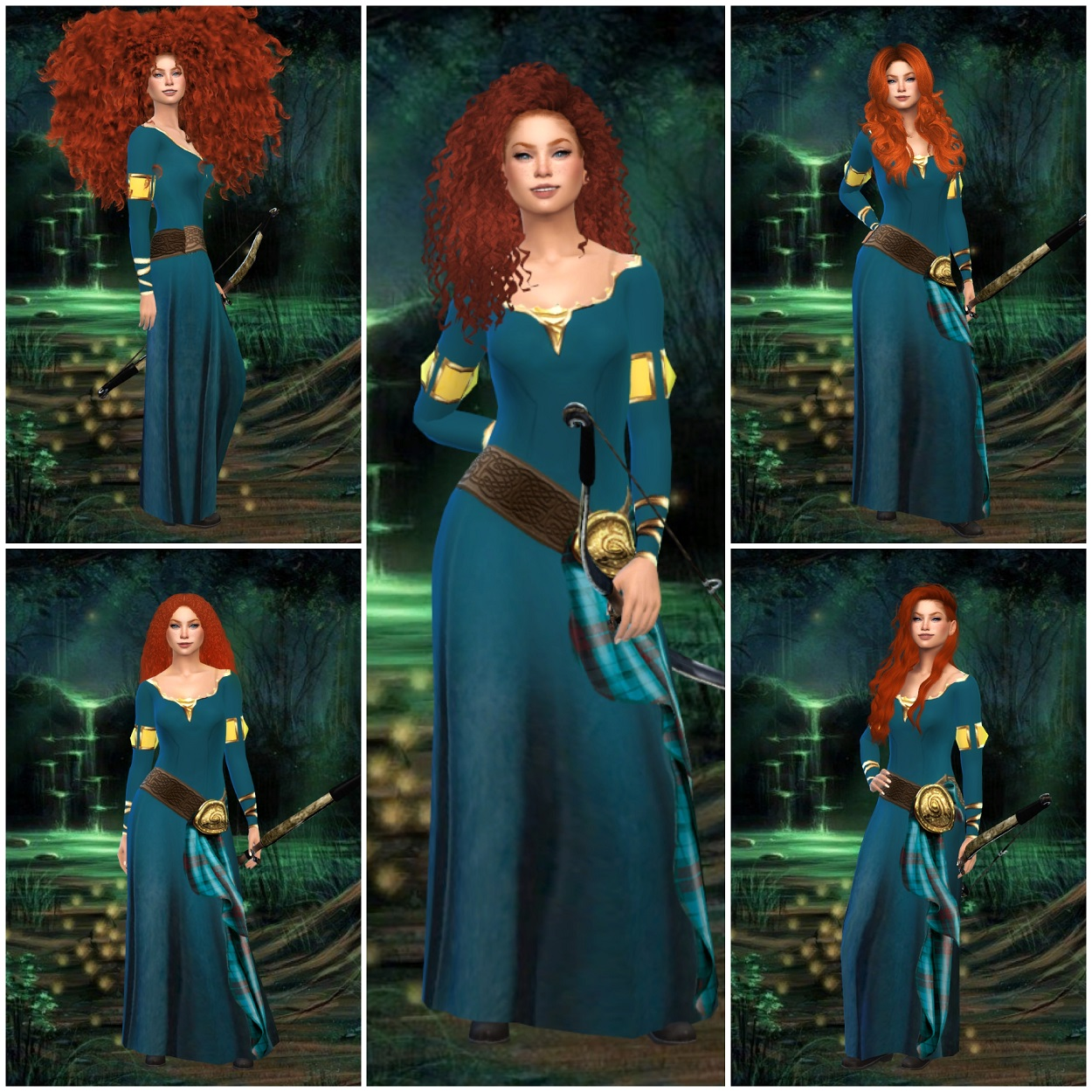 The Sims 4 I Disney – Brave – Merida 🏹