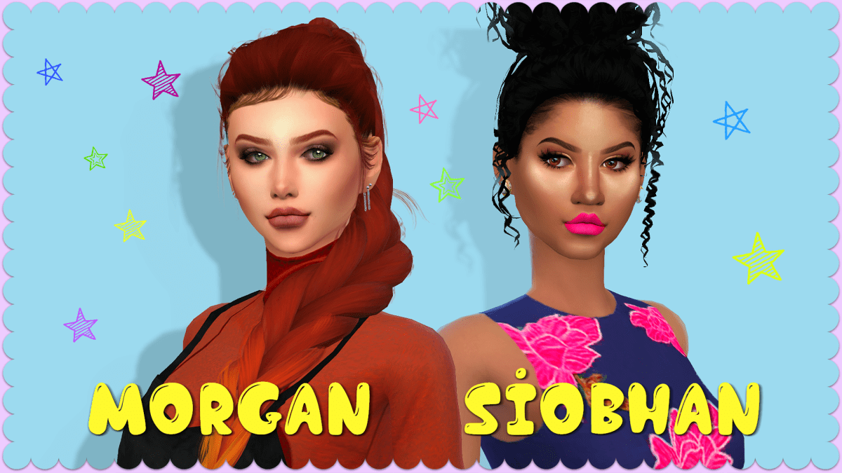 The Sims 4 I Townie Makeover I Siobhan and Morgan Fyres