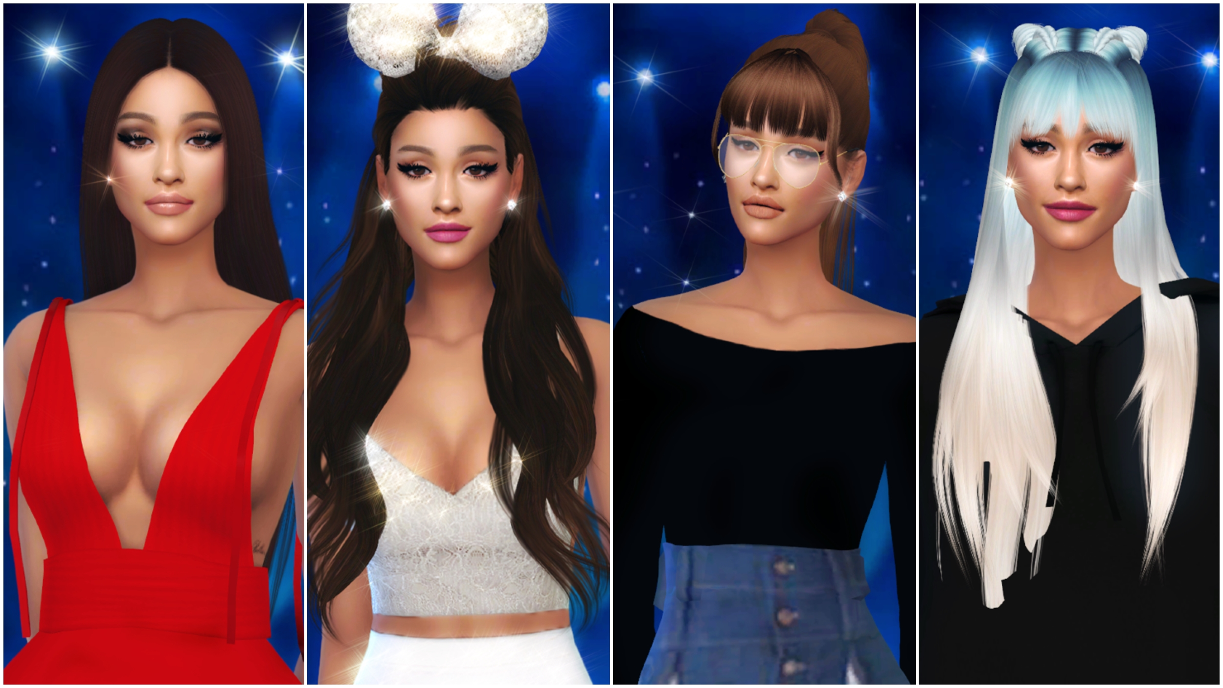 The Sims 4 I Create a Sim I ARIANA GRANDE ♡