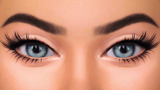 Must have 3D eyelashes for your Sims 4 game