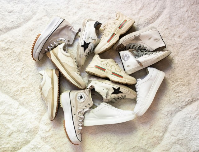 Best Sneakers of 2021, Golden Goose Sneakers, M. Gemi Sneaker, White Leather Sneaker, Gucci Rhyton Sneaker, Converse Hike Star, Golden Goose Sale, Rugs USA