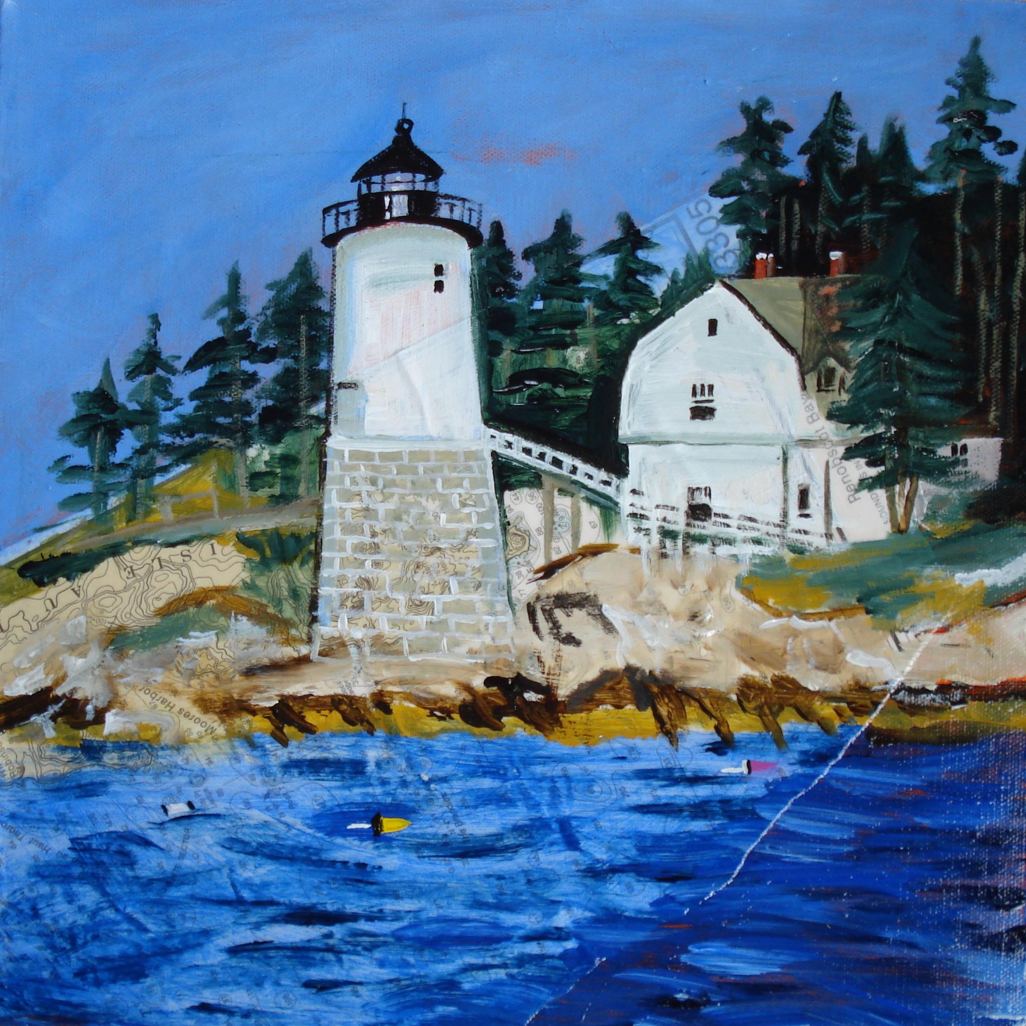 """""""Isle au Haut Light""""  (c) Katy Allgeyer 2009"""
