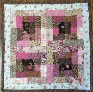 Four Square Doll Quilt