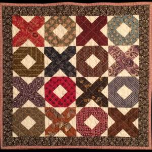 Hugs and Kisses Doll Quilt