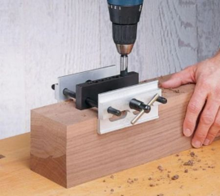 Premium Woodworking Doweling Jig photo review