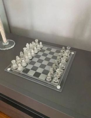 Luxury Glass Chess Board photo review