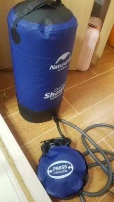 Portable Outdoor Travel Shower - Smart Compact Shower photo review
