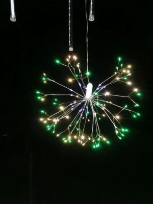 Christmas Fireworks Led String Lights photo review