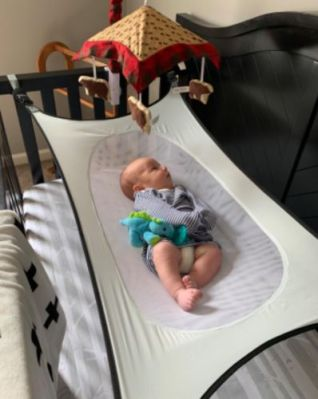 Catchiebaby Infant Baby Hammock (Detachable Baby Crib With Adjustable Net) photo review