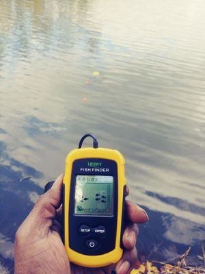 Portable Wireless Smart Pro Fish Finder Sonar Detector With Display photo review