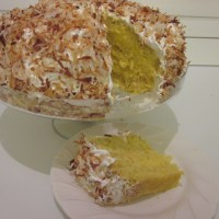Coconut Custard Cake Recipe