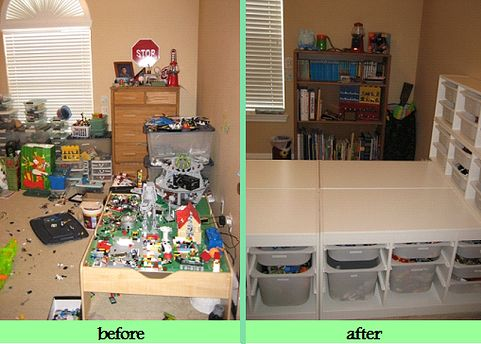Kids Room Organization Before After Pics