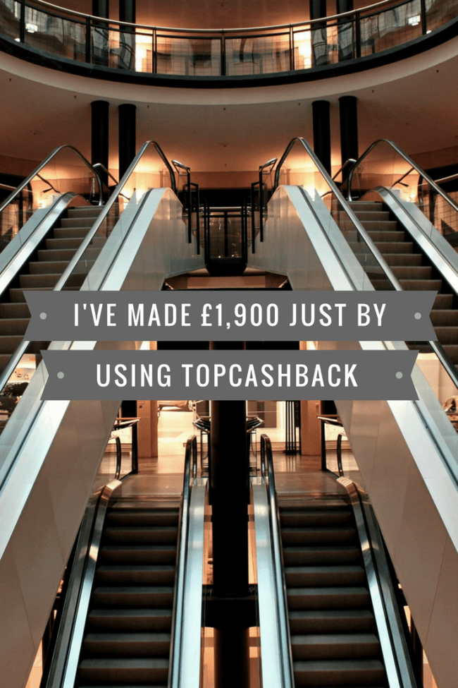 I've made more than £1,900 thanks to cashback sites. Find out more about how you can earn money for purchases that you were already making. Get paid to shop!