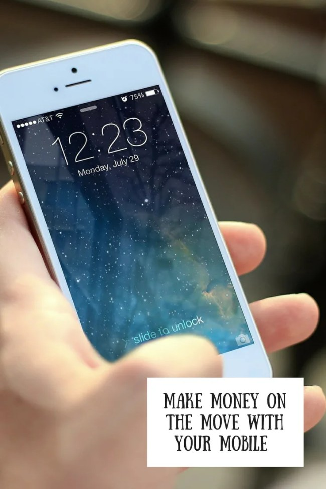 Make money on the move on your mobile phone by completing simple tasks when you have a spare 5 minutes. All thanks to the Spare 5 App