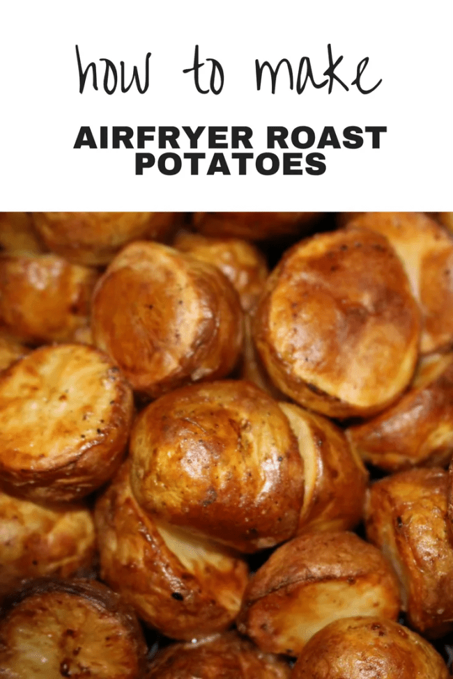 Airfryer Roast Potatoes Recipe Absolutely Delicious And So Simple