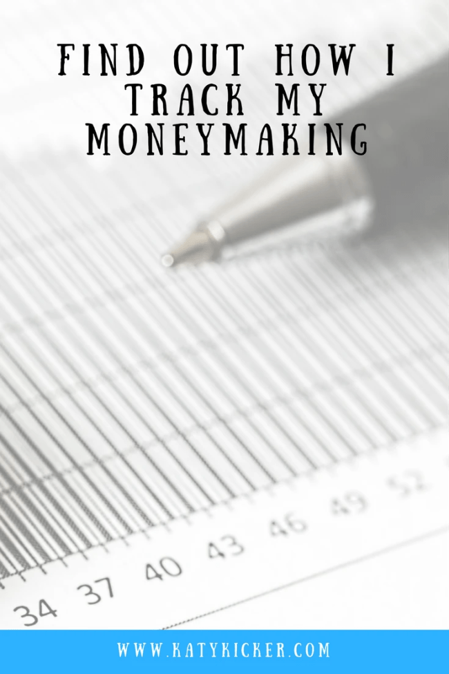 Find out everything about how I track my moneymaking. I make money from blogging, surveys, matched betting, mystery shopping and much more.