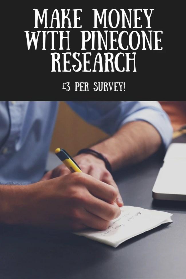 Make money with Pinecone Research surveys. Money making, online money, paid surveys, finances