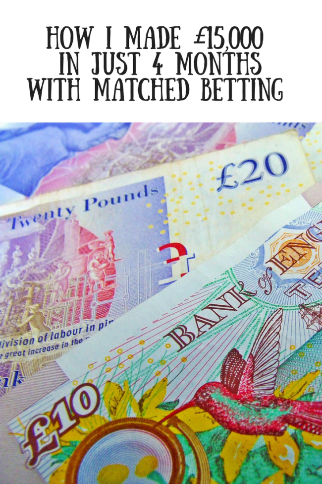 How I made £15,000 in just 4 months with matched betting