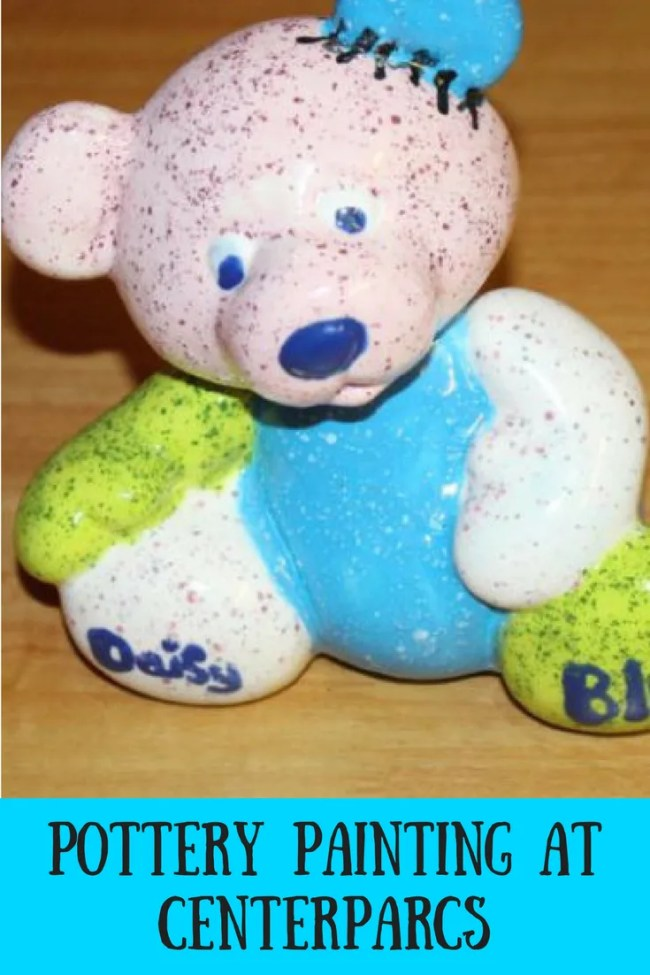 Find out more about pottery painting at Centerparcs. Take a look at what we painted and find out how the process works