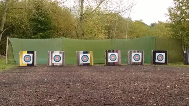 Target archery at Centerparcs
