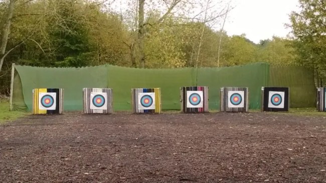 Target archery at Centerparcs