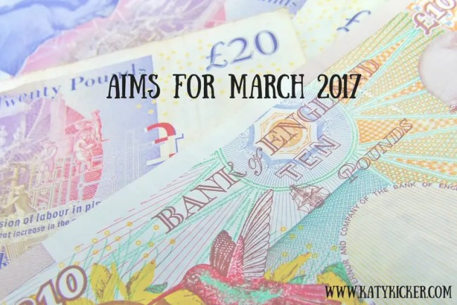 Aims for March 2017