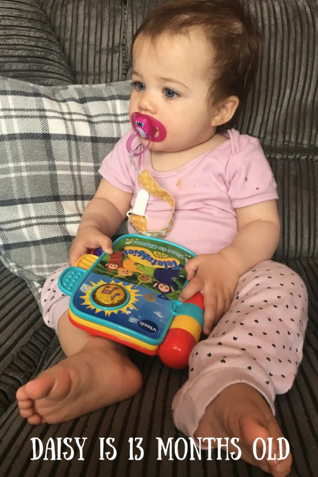 Daisy is 13 months old. Find out what she has been up to in the last month and what her favourite toys are.