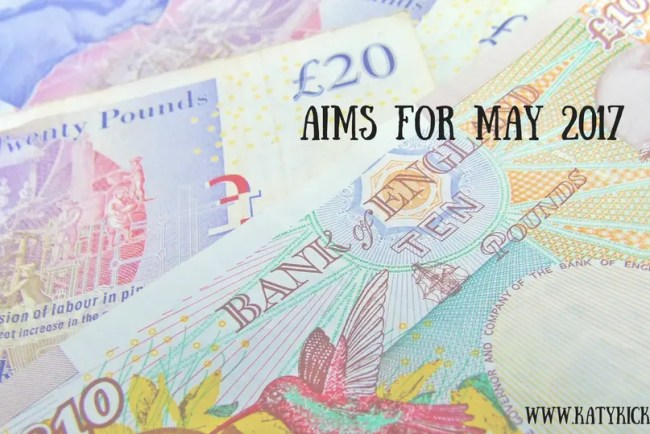 Find out more about my Aims for May 2017