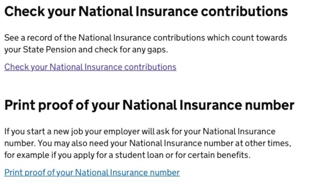 Gaps in your national insurance - check your national insurance contributions