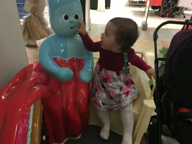 Daisy is 15 months old - Daisy is so happy to see Iggle Piggle