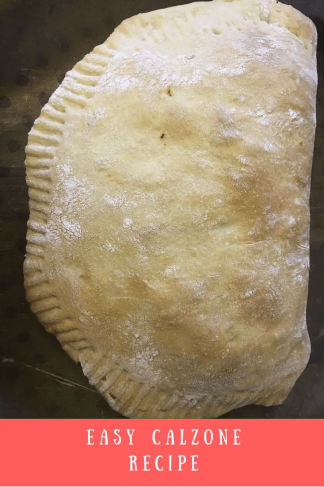 My easy calzone recipe takes just minutes to prepare, tastes delicious and is cheap too. Frugal calzone recipe using pizza dough