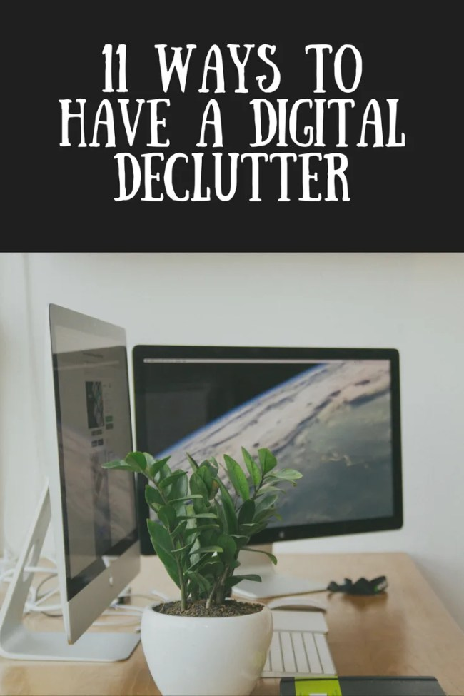11 ways to have a digital declutter. Clear your email inbox, organise your online life, feel lighter and stop being overwhelmed by social media