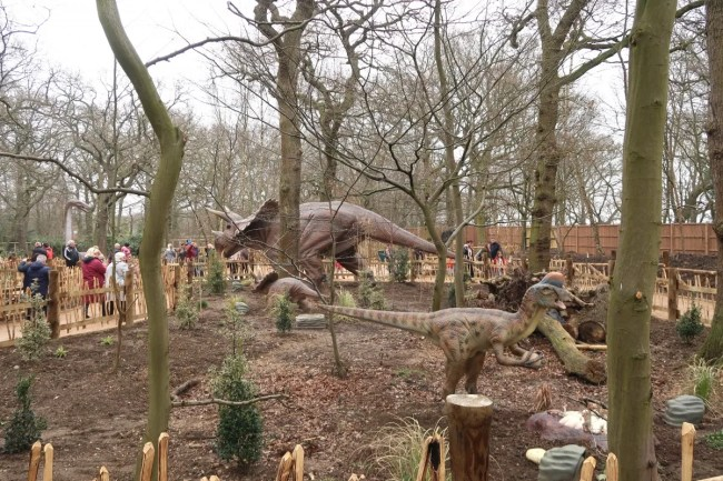 The World Of Dinosaurs Attraction at Paradise Wildlife Park