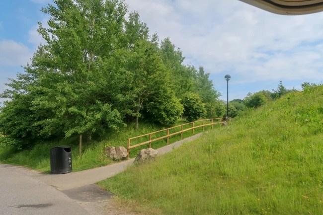 Bluestone Wales - pathways and greenery