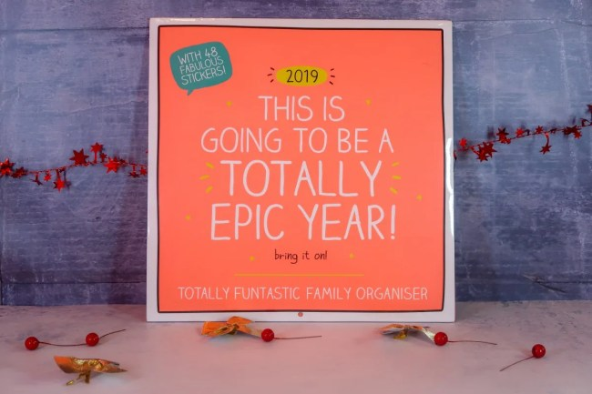 2018 Christmas Gift Guide for Parents Yearly Planner