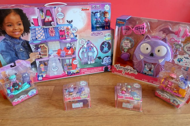A look at the newest Vampirina toys