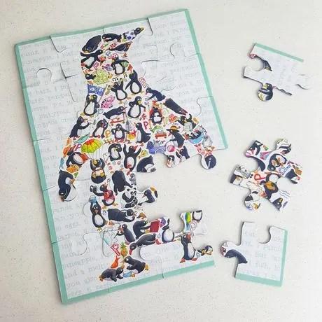 Penguin Puzzle The English Beagle