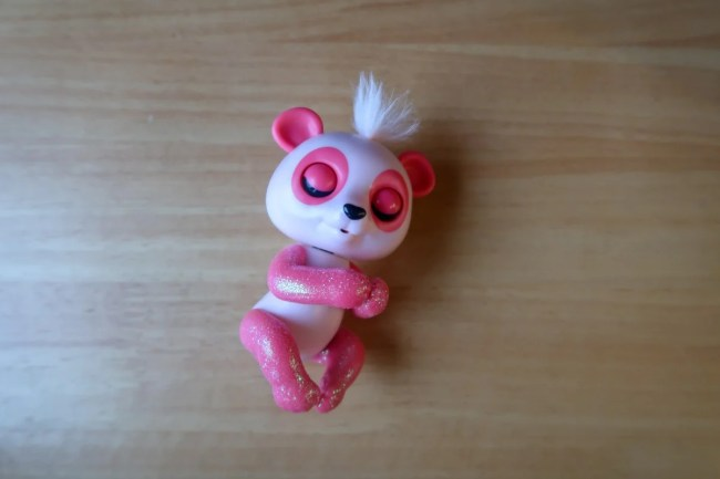 Pink Baby Panda Polly Fingerling