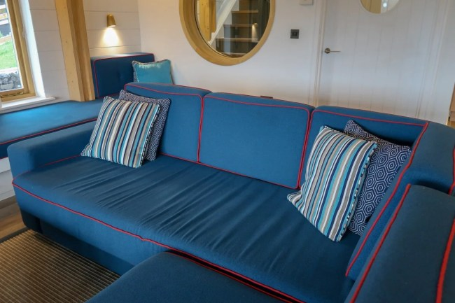 Centerparcs Waterside Lodge Review - A look at one of the seating areas