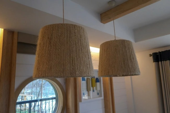 Centerparcs Waterside Lodge Review - Nautical decorations in the lodge