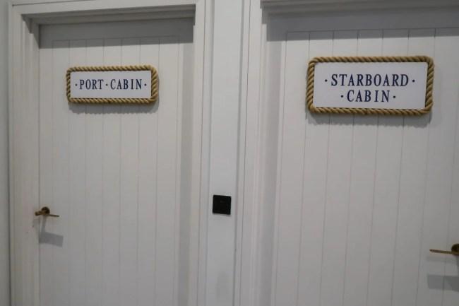 Centerparcs Waterside Lodge Review - The bedroom doors