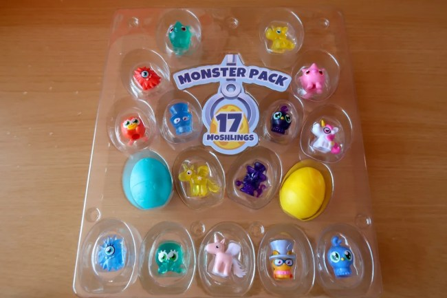 A look at the Monster Pack of Moshi Monsters