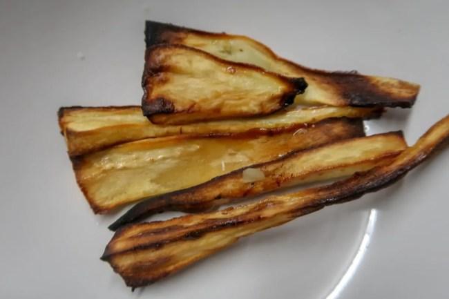 Airfryer parsnips