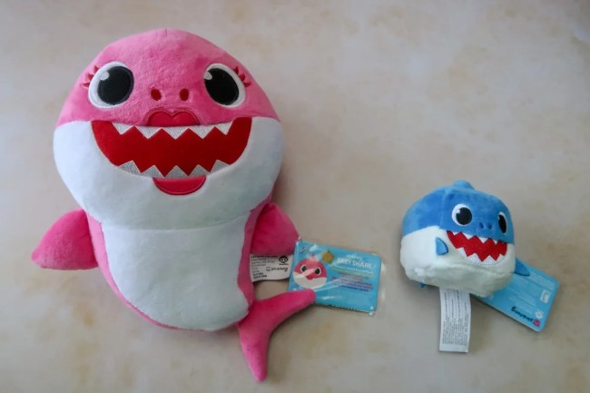 Pinkfong Baby Shark Plush range