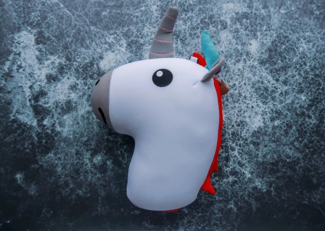 Valentine's Day Gift Guide for 2019 - CoolStuff Unicorn neck pillow